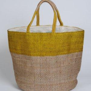 Hand woven jute bag BSK-J34