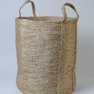Hand woven jute basket BSK-J1