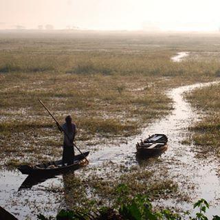 Day break in the Bay of Bengal