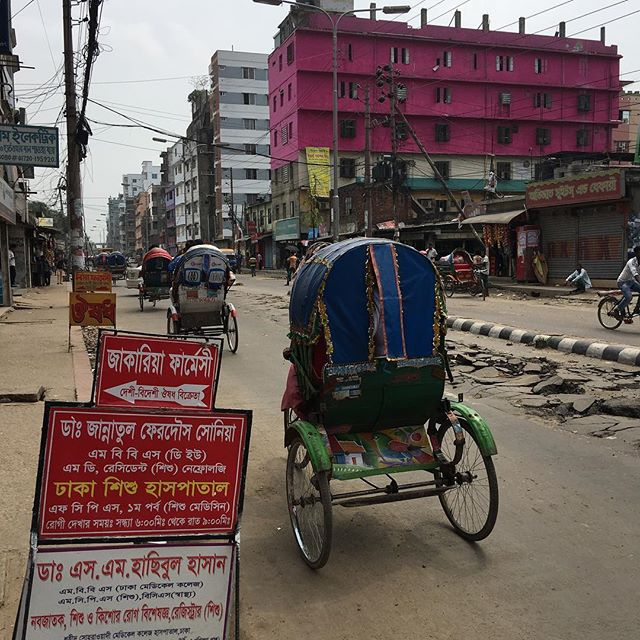 As Salaam Alaikum Dhaka - great to be back