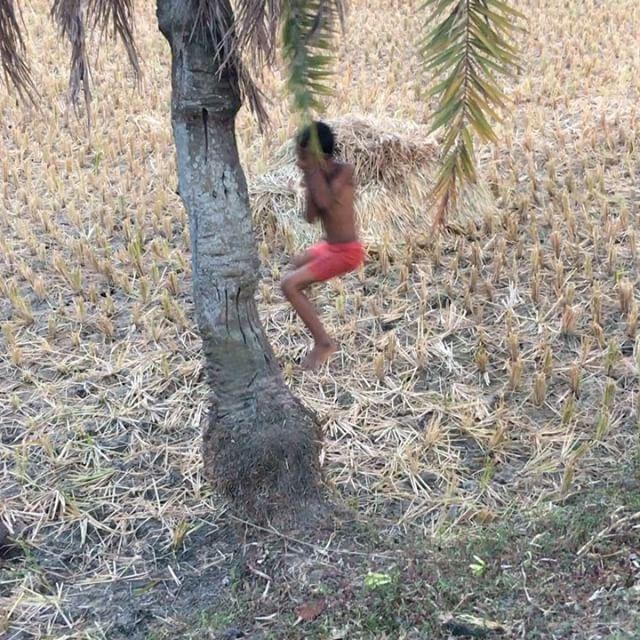 Village life in rural Bangladesh