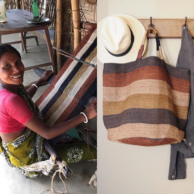 Provenance - waist loom weaving
