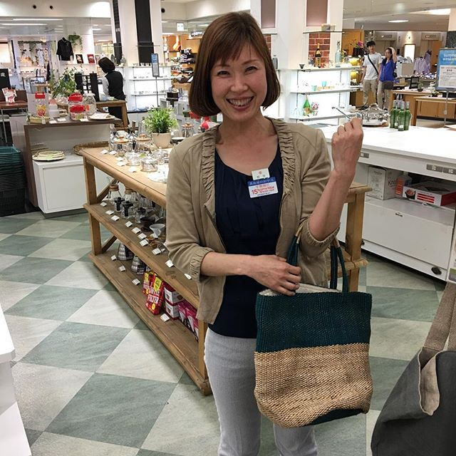 And here we are in Takashimaya department store in Kyoto