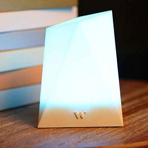 Lampe connectée Notti: elle vous signale toutes notifications
