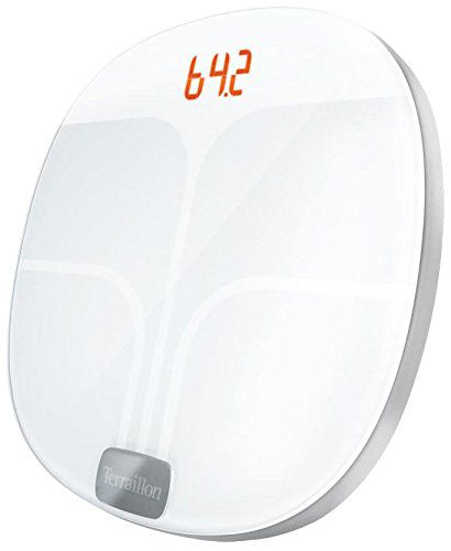 TERRAILLON Web Coach Pop Blanc pèse-personne connecté blanc, un suivi permanent de votre poids