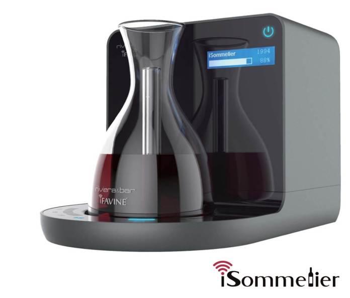 La carafe à vin connectée RIVIERA ET BAR isommelier