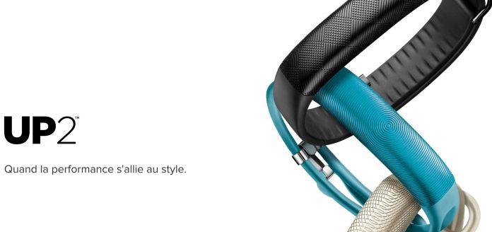 bracelet connecte Jawbone UP2- tracker d'activité