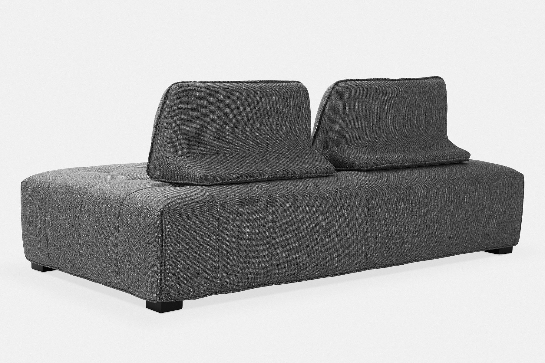 facette sofa with removable backrests maison corbeil