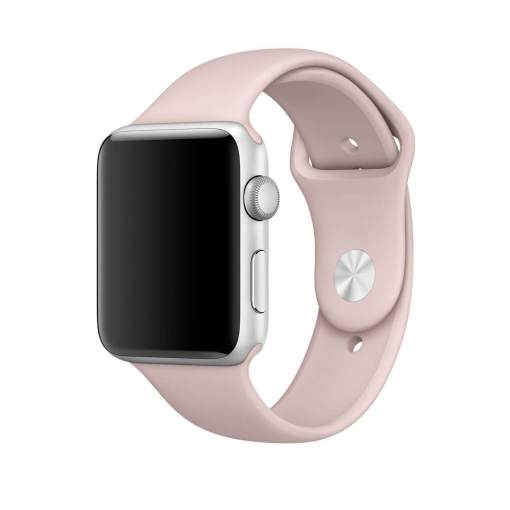 Pink Sand Band for Apple Watch Sport Band 38mm 42mm Rose Red Mens and Womans