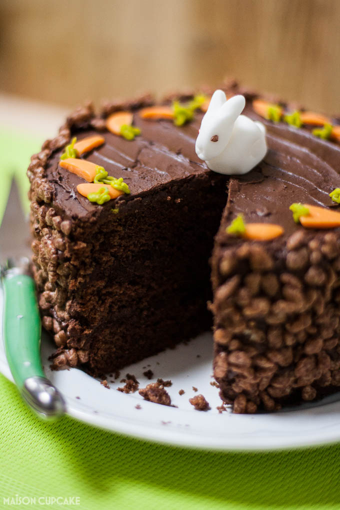 Easter Rabbit Cake