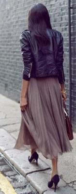 pleats a plenty lavender skirt