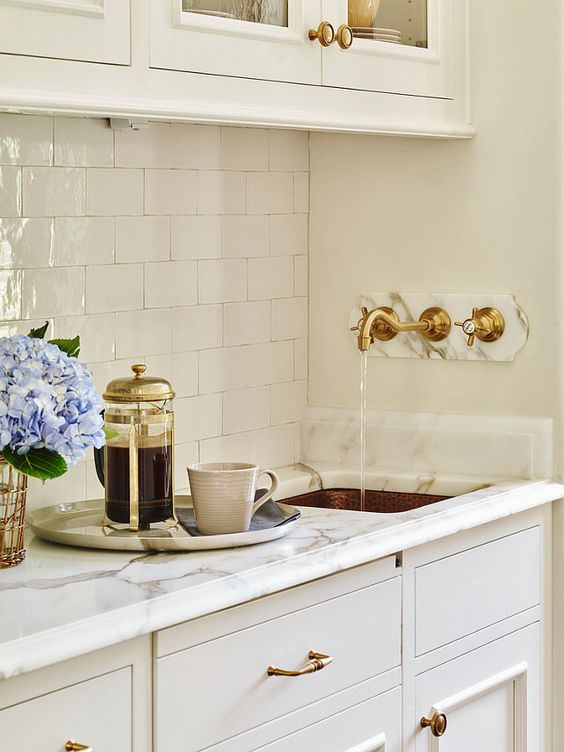 brass-faucet-white-kitchen