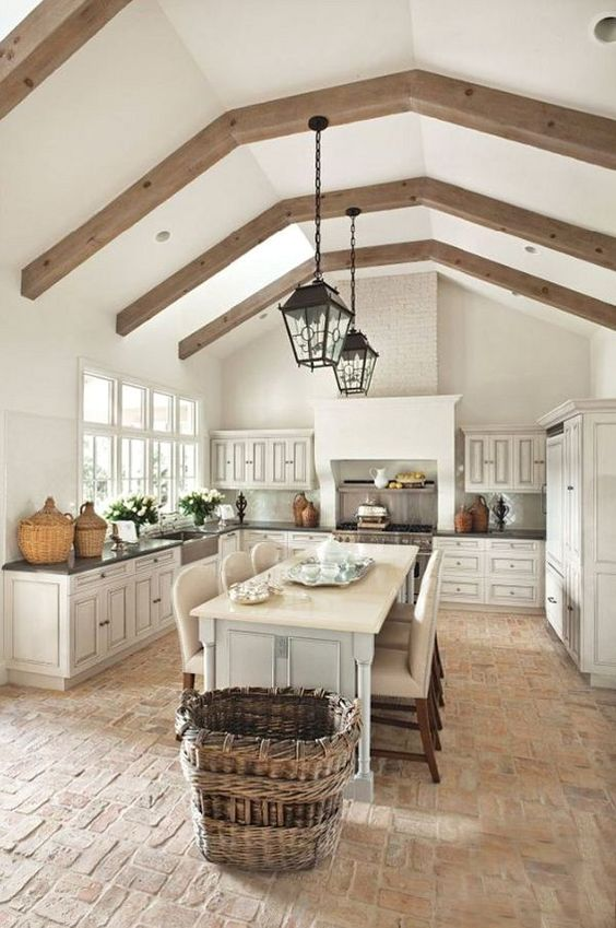 Friday Favorites - French Farmhouse Kitchens