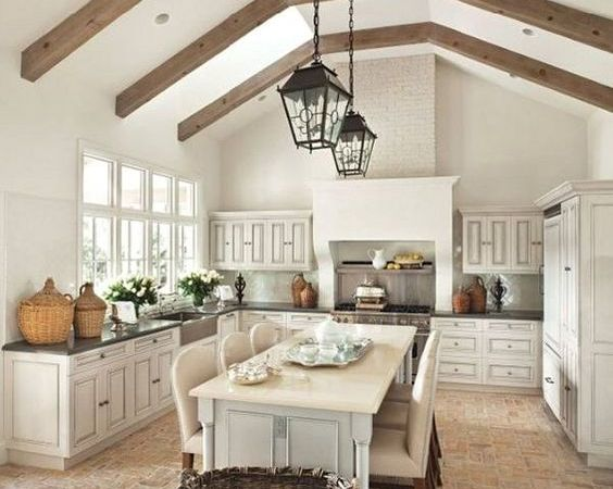 Friday Favorites – French Farmhouse Kitchens