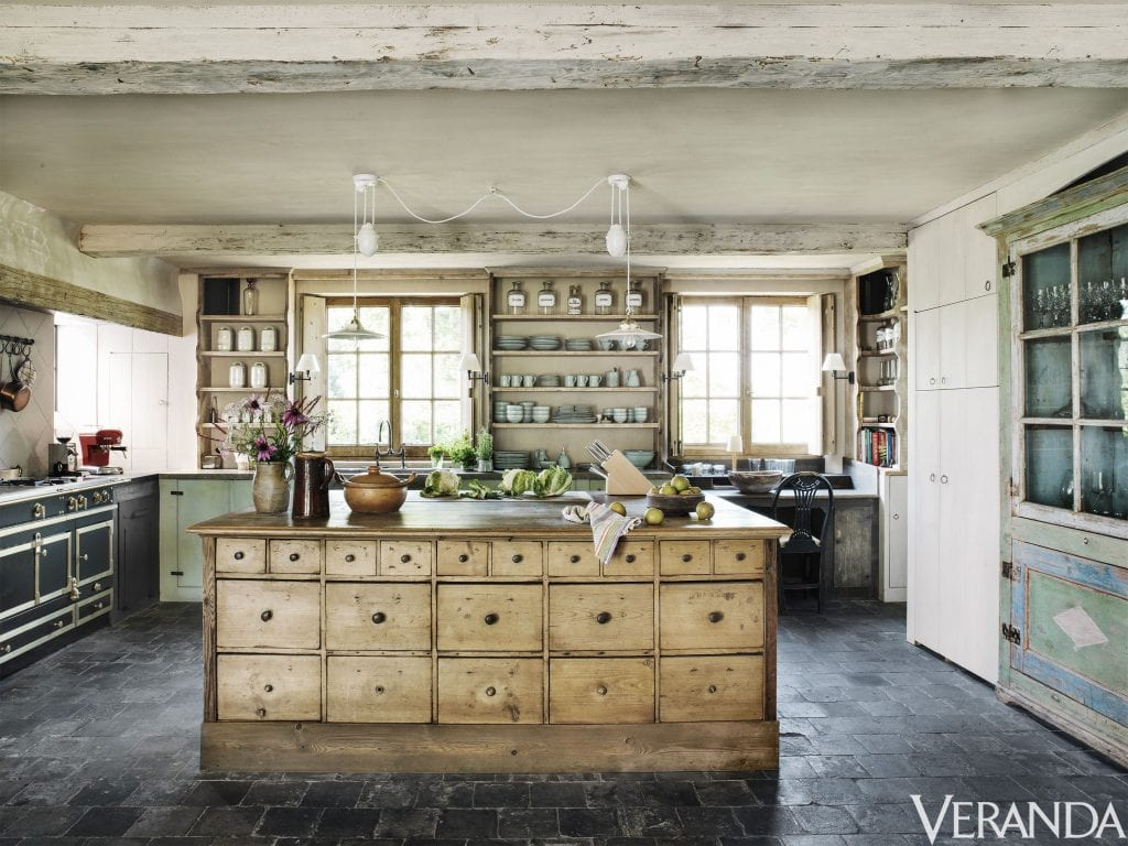 farmhouse style kitchen islands diy island with seating friday favorites the charm of french kitchens