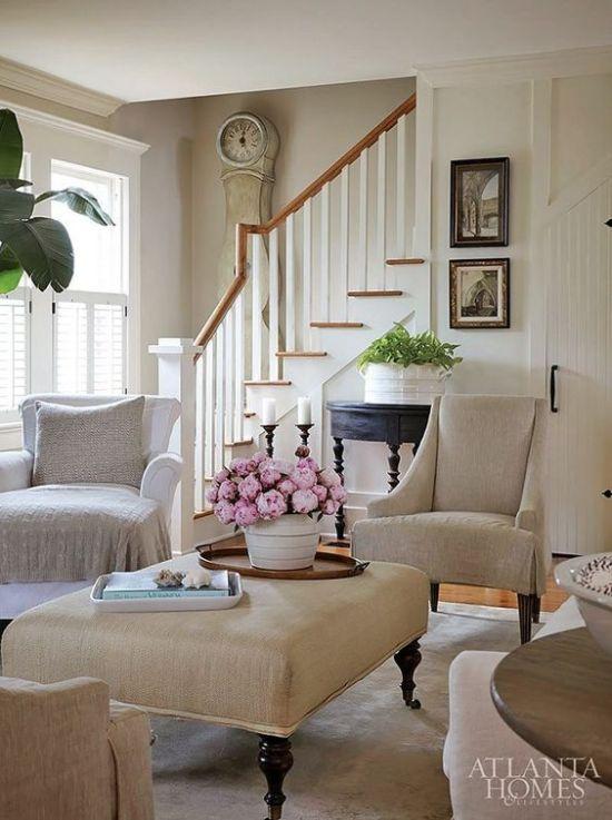 cute-linen-ottoman-coffee-table