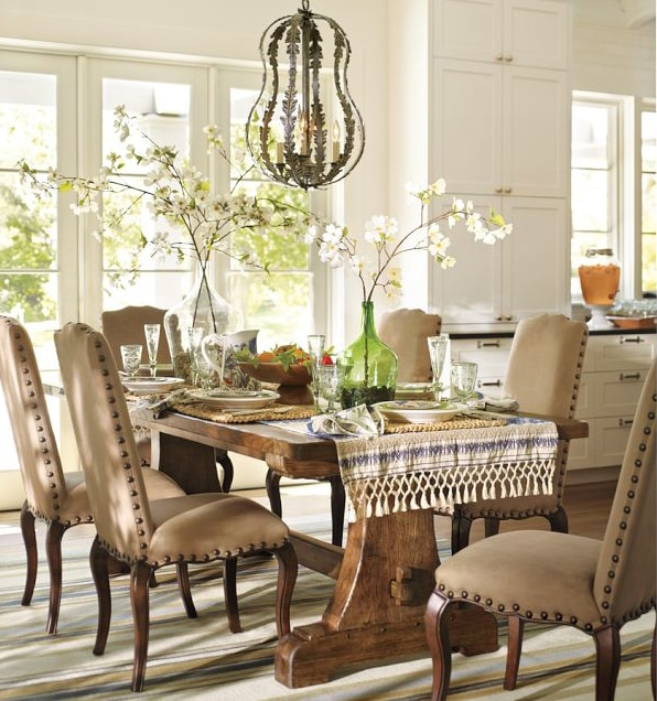 antique-demijohns-collection-grouping-dining-table