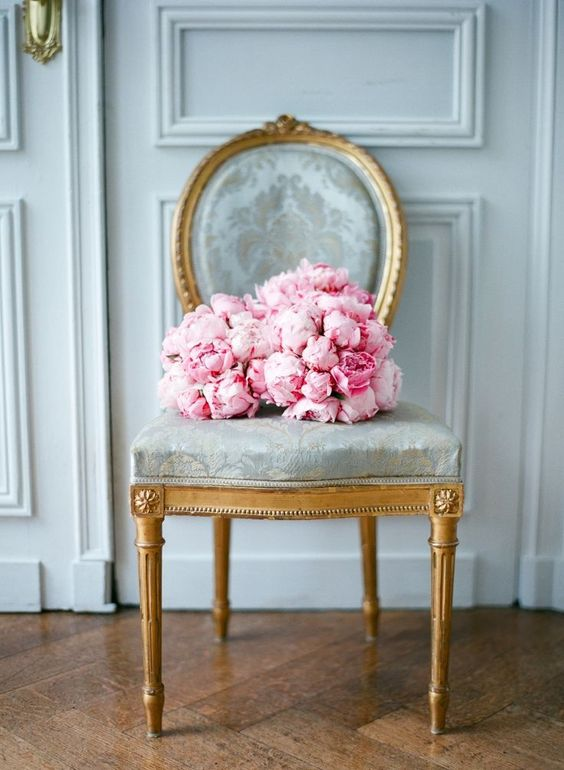 pink-peonies-french-chair