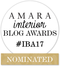 Amara interior Blog Awards Nominee