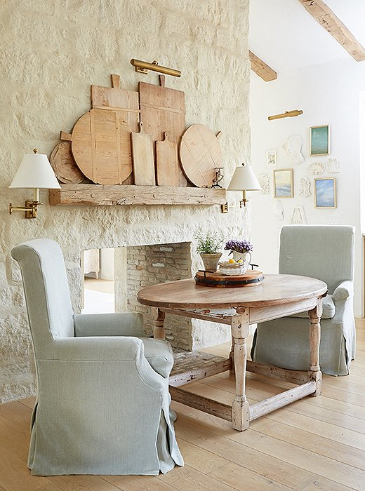 Vintage French Bread Boards and How to Decorate with Them