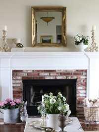 Simple but Elegant Spring Living Room Decorating Ideas