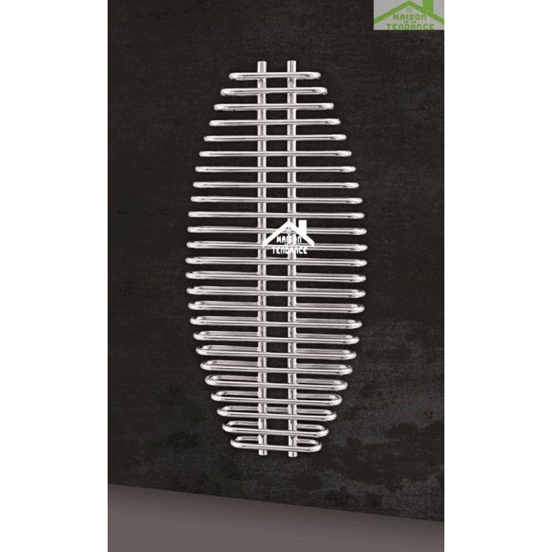 Radiateur scheserviette design vertical ARIA 60x130 cm en chrome