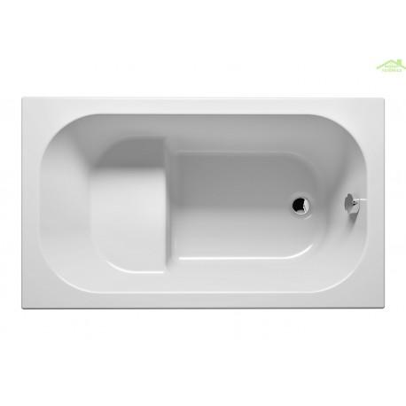 baignoire acrylique riho kely petit 120x70 cm