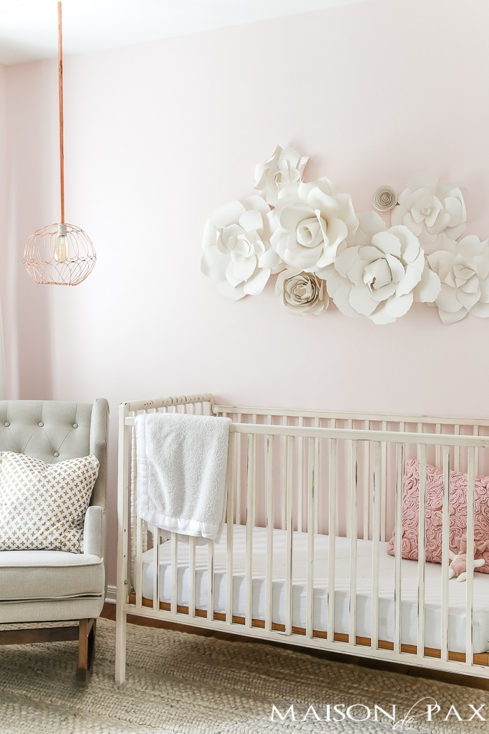 Paper Flowers Baby Room Decorations With Paper - Novocom.top