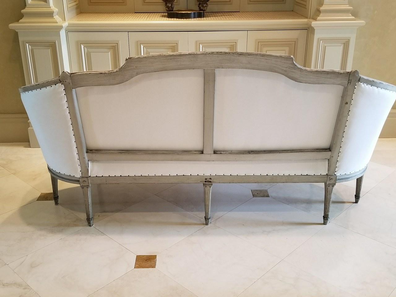 18th C Louis XVI Sofa  Maison de Provence