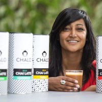 Chalo funky feel good chai latte