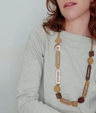 collar twiggy largo suela bronce