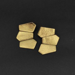 aros rocks dorados