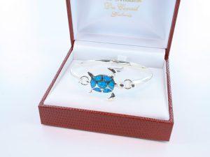 bracelet en opale et argent 925 par 1000 BR-OP-BL-020