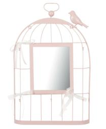 Für Romantische: Schmuckkäfig Spiegel ca. 20€