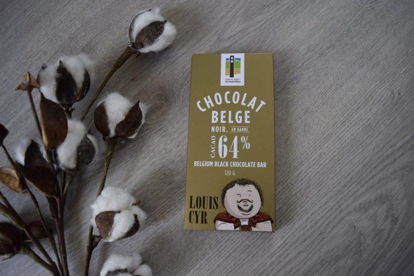 Barre de chocolat Louis Cyr