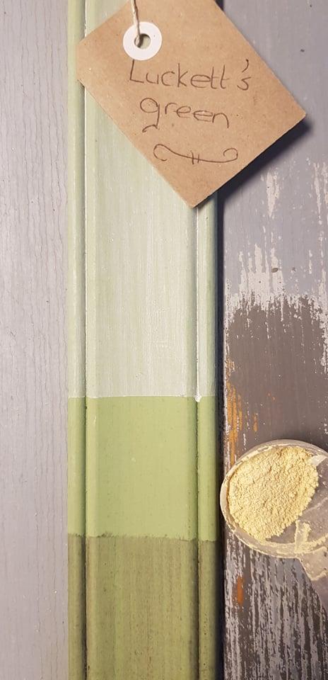 milk paint groen met gele ondertoon miss mustard seed