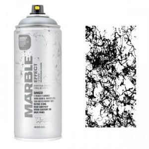 Montana Marmer Effect Spuitbussen 400ml zwart