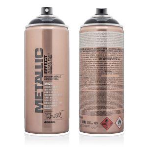 Montana Metallic Spuitbus zwart 400 ml