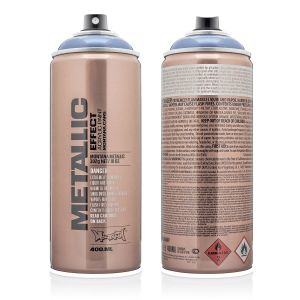 Montana Metallic Spuitbus Ice Blue 400 ml