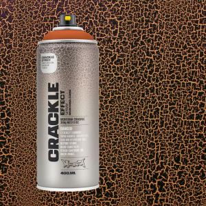 Crackle Copper brown