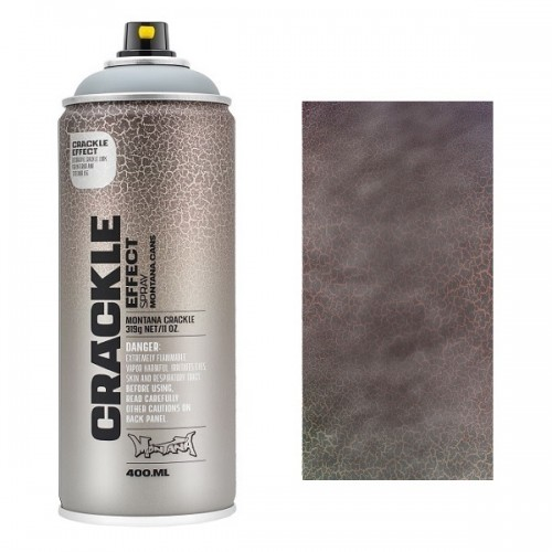 Montana CRACKLE EFFECT Spray Grijs  RAL 7000  400ml