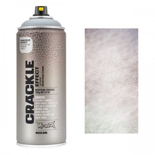 Montana CRACKLE EFFECT Spray White 400ml