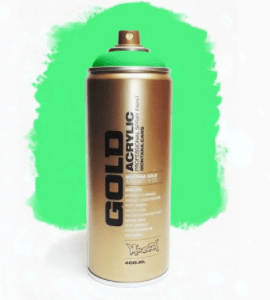 Acid Green Montana Gold spuitbus 400ml