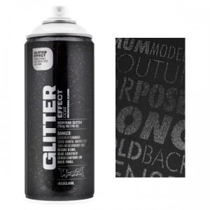 Montana Glitter Effect spuitbus Zilver 400 ml