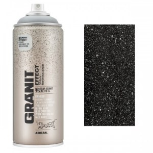 Montana Graniet effect spuitbus Zwart 400 ml