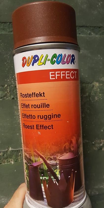 roest effect spuitbus