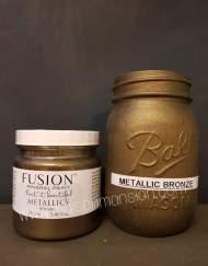 Fusion Metalic paint bronze 250ml maisonmansion, Fusion metallic paint, , metallic paint maisonmansion