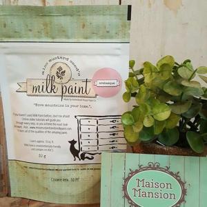 Tester Miss Mustard Seed's Milk paint Arabesque