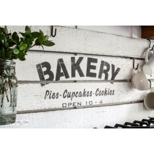 Bakery sjabloon groot