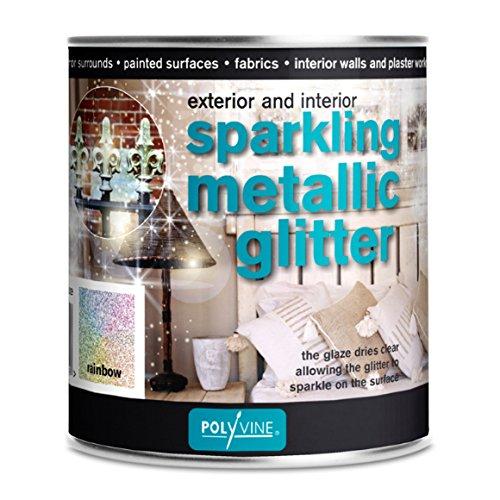 Glittervernis Regenboog  500 ml